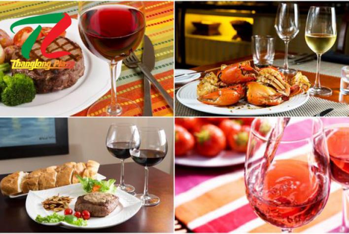 Mẹo kết hợp rượu vang chuẩn cho món ăn ngon đúng điệu