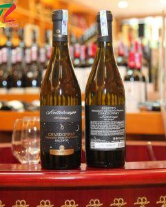 Rượu vang cao cấp LE VIGNE DI SAMMARCO NOTTETEMPO 100 BARRIQUE CHARDONNAY SALENTO 2017 được sản xuất từ giống nho Chardonnay
