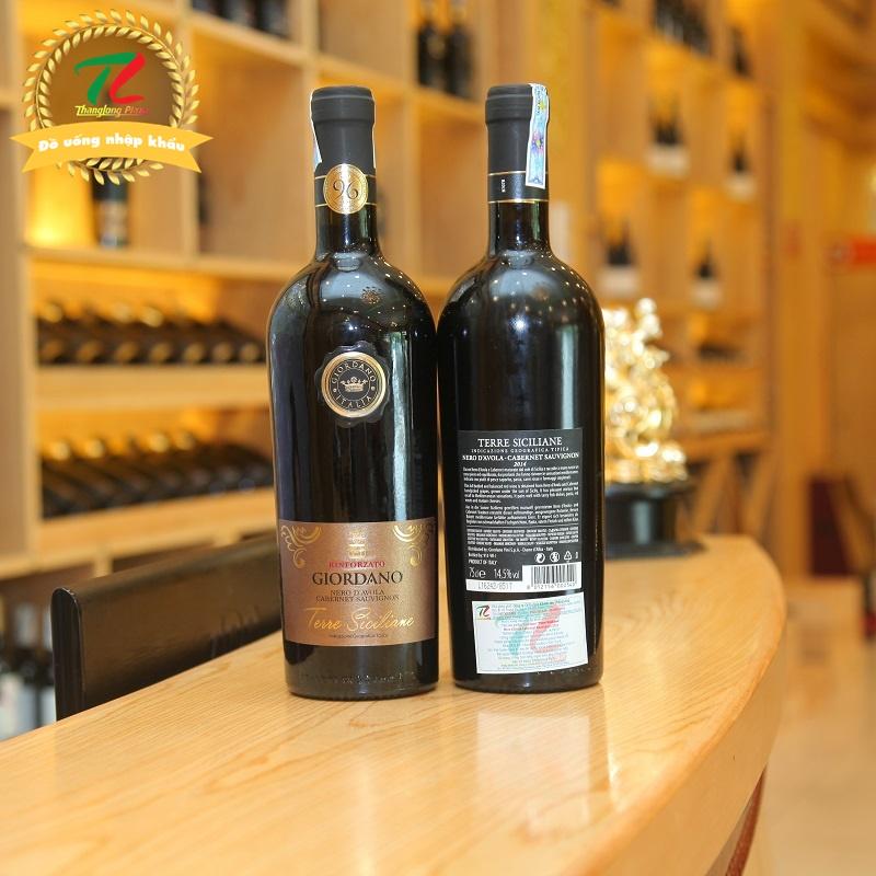 """3 chai vang nhà Giordano ngon, đáng tiền dành cho giới """"mê"""" vang"""