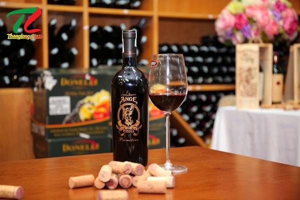 Hương vị mãnh liệt đầy mê hoặc của rượu vang Ý - ANGE Primitivo Puglia