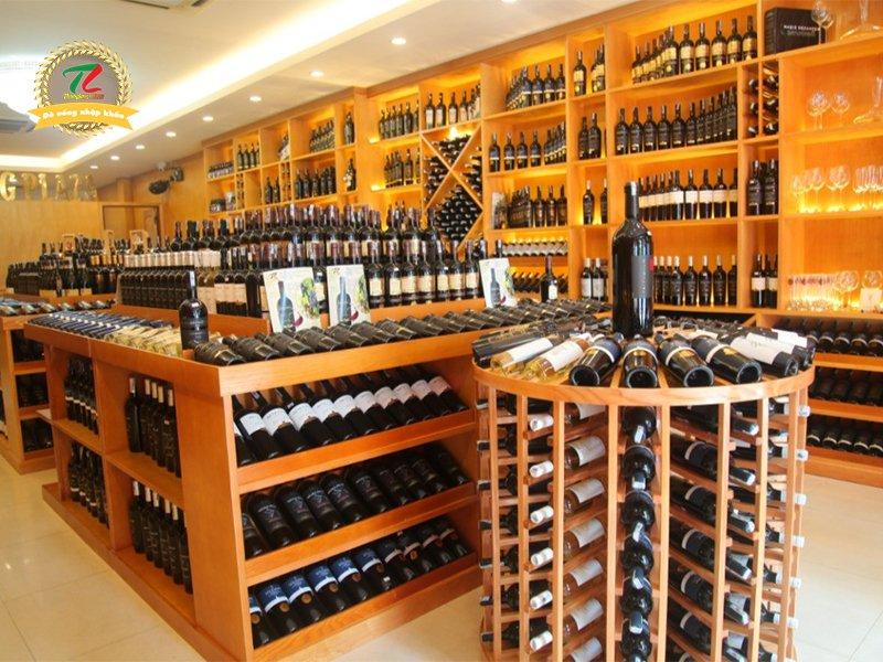mở cửa hàng rượu ngoại