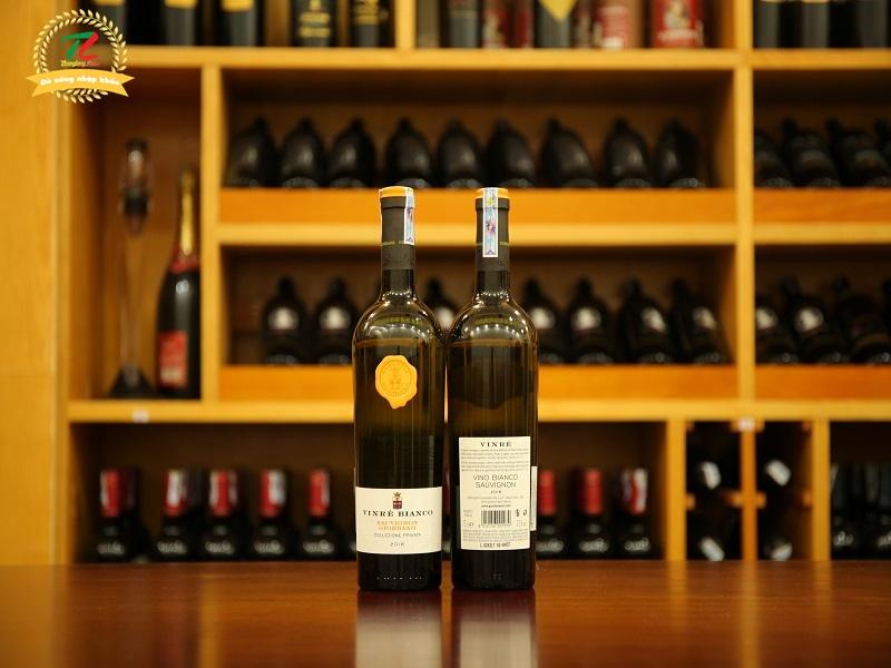 Rượu vang Giordano Vinré Bianco Sauvignon
