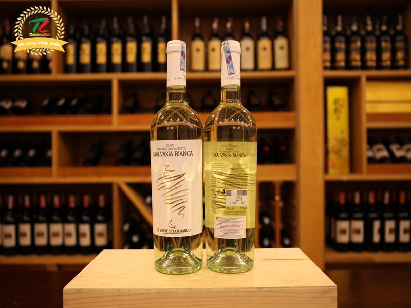 Rượu vang Ý Malvasia Bianca Salento