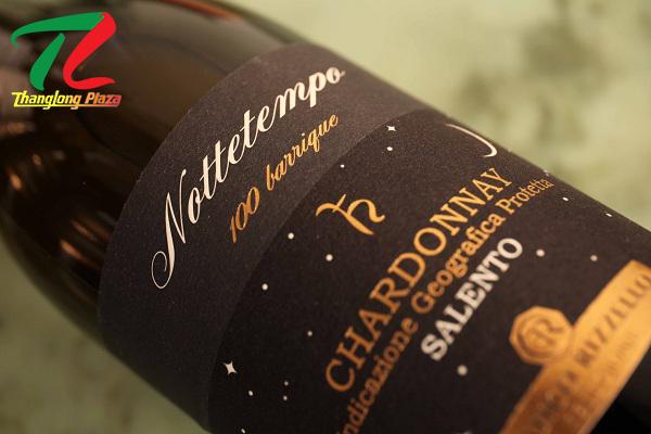 Nottetempo 100 Barrique Chardonnay