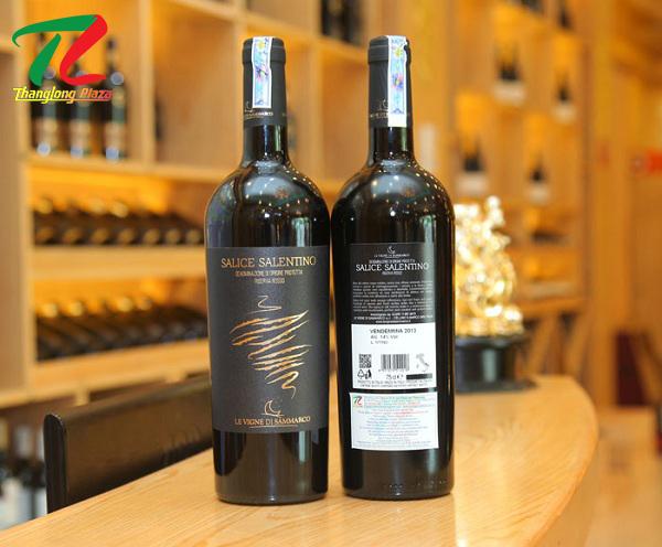 Rượu vang Salice Salentino Riserva Rosso Salento