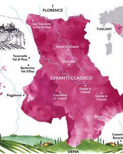 Tìm hiểu đôi nét về tiểu vùng trồng nho vang danh thế giới Chianti