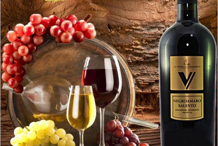 Rượu vang V Negroamaro Salento - Chai vang đỏ quyến rũ, đẳng cấp của Ý