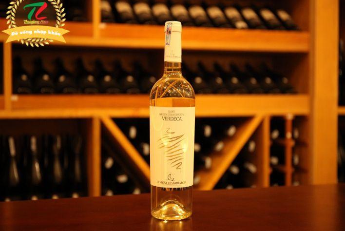 Vang Ý Verdeca Salento - Tuyệt phẩm vang trắng giá bình dân